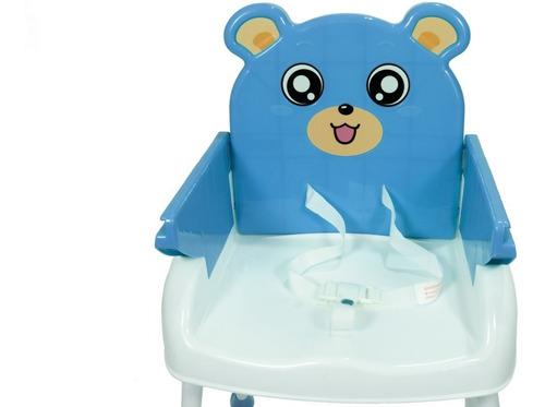 silla de comer oso bebitos 3 en 1 hc-218 bebitos