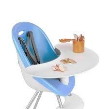 silla de comer para bebe convertible a silla normal phil&ted