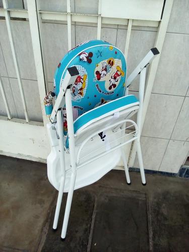 silla de comer para bebes de metal a solo 139 soles nuevo