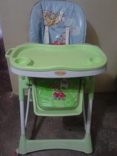 silla de comer para bebes doble bandeja marca coco liso