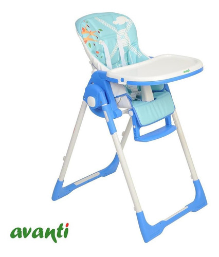 silla de comer para bebés europa avanti reclinable + cuotas