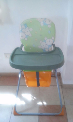silla de comer - plegable - bandeja desmontable