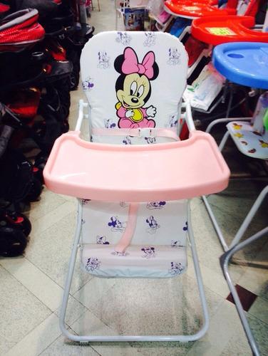 silla de comer plegable bebe niños dibujos liviana  envios