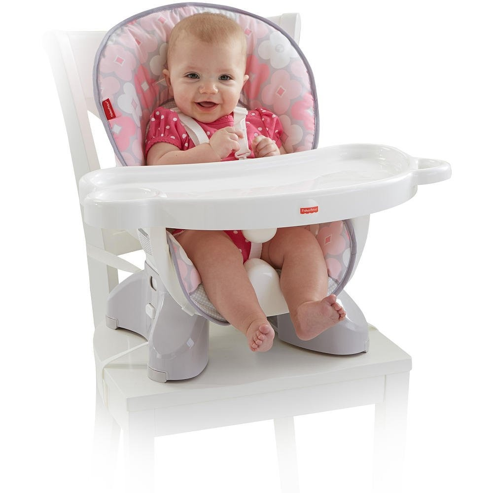 Silla de comer port til fisher price spacesaver for Silla fisher price para comer