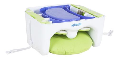 silla de comer portátil foods up green infanti