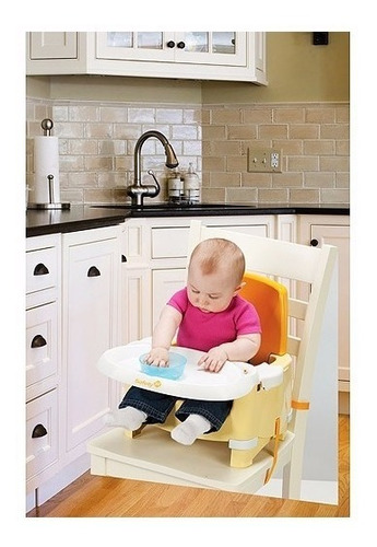 silla de comer portátil- snack and scribble - safety 1st