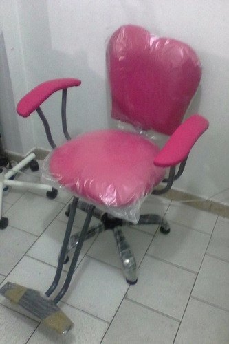 silla de corte para peluquería y barbería sally