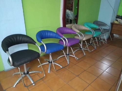 silla de corte peluquería nuevas sauna salud barberia baber