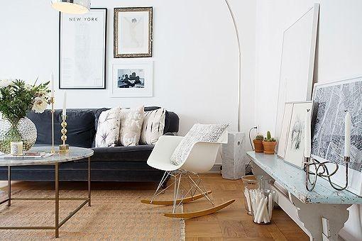 Silla de dise o mueble mecedora sala comedor oficina moderna u s 109 00 en mercado libre - Mecedora diseno ...