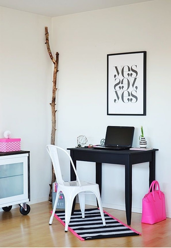 silla de diseño tolix blanca garden life