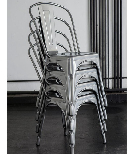 silla de diseño vintage tolix