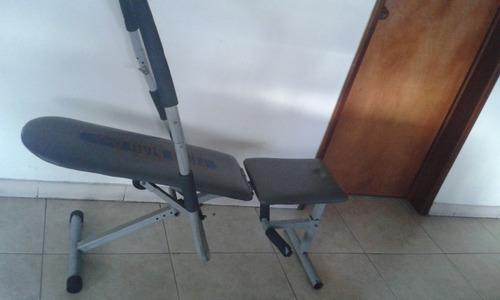 silla de ejercicios abdominales
