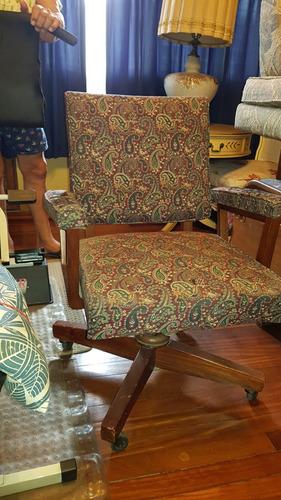 silla de escritorio antigua