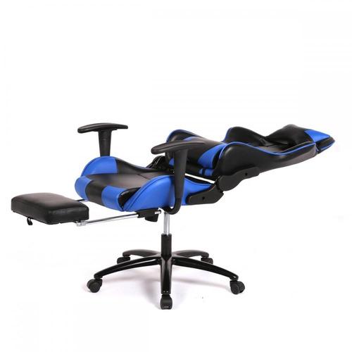 Silla de escritorio gamers asiento de carreras reclinable for Silla de escritorio precio