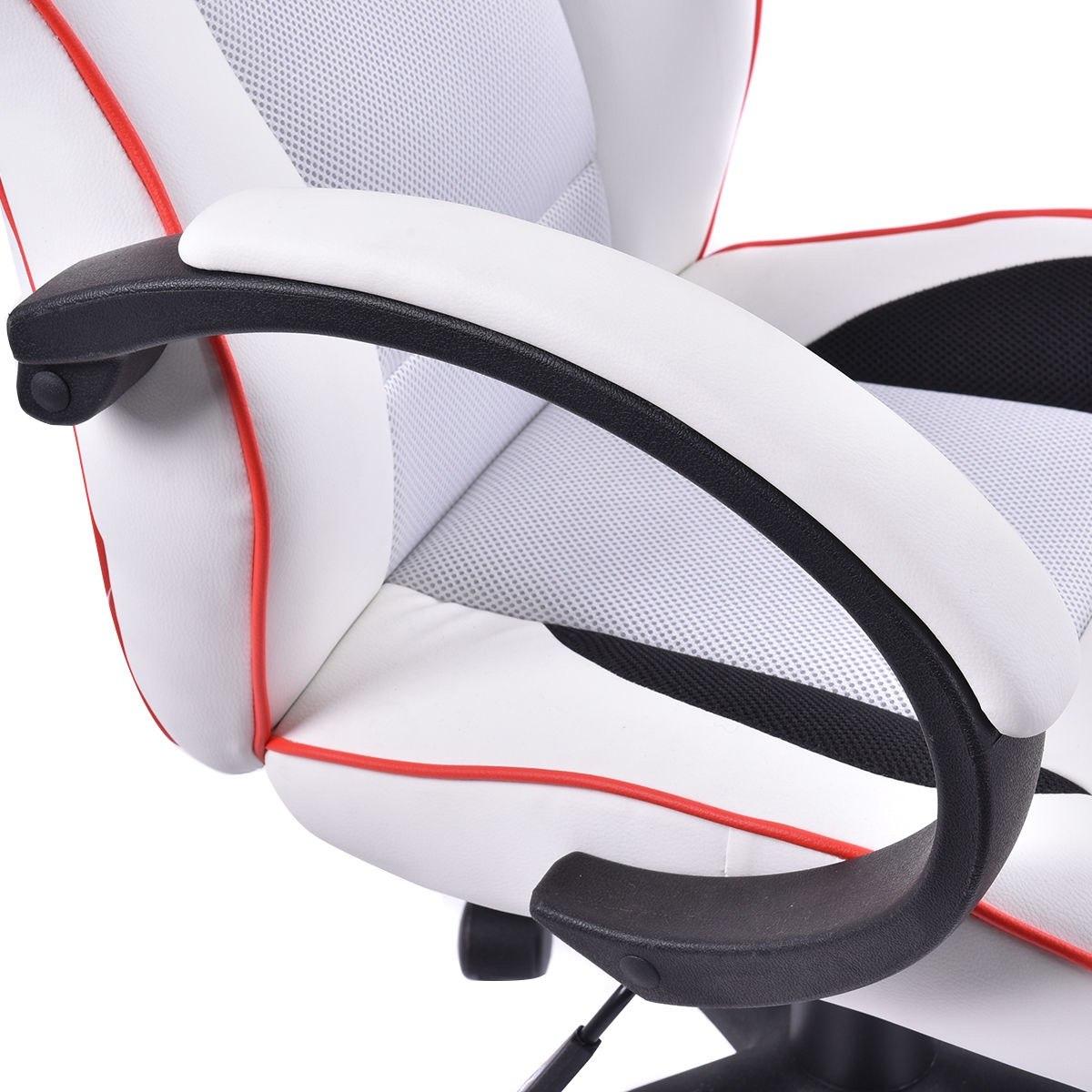 Silla de escritorio gamers juegos deportiva env o for Precio de sillas para escritorio
