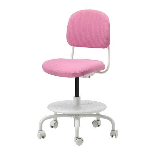 Silla De Escritorio Ikea Childs Rosa 7 320 15 En Mercado Libre