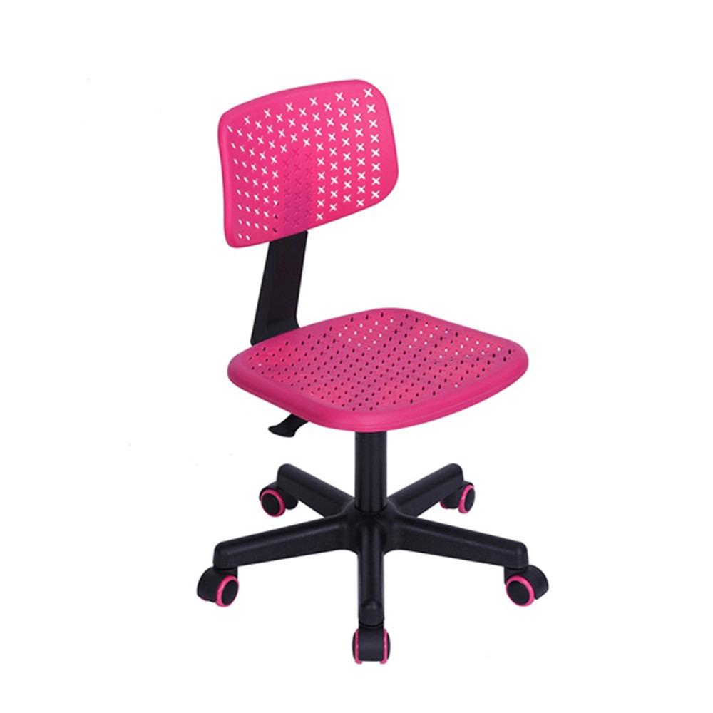 Silla de escritorio iwc rosa muebilia en for Sillas oficina economicas