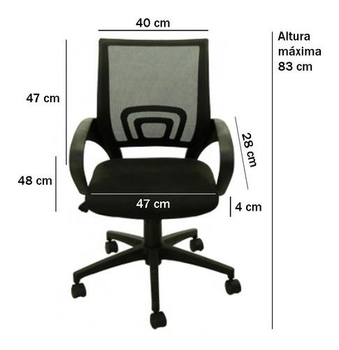 silla de escritorio oficina ejecutiva ergonomica envio cuota
