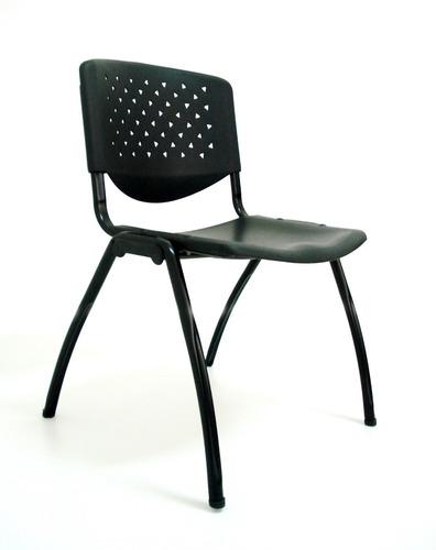 silla de espera apilable w601 metal negra o colores oferta