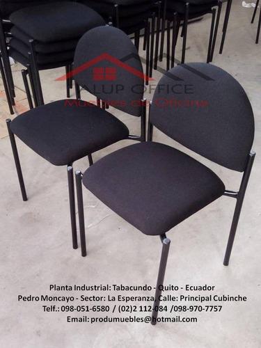 silla de espera - muebles de oficina - produmuebles - censa