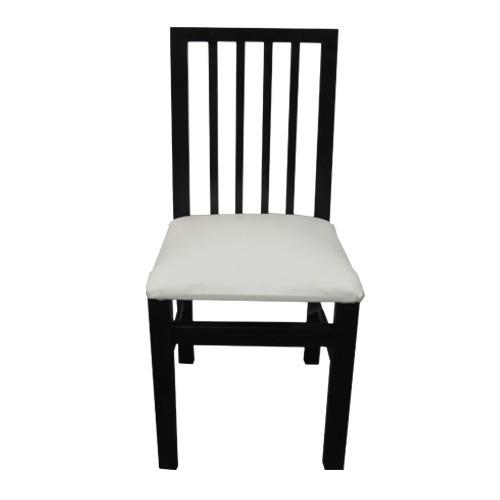 silla de guatambu negro maciza reforzada tapizada!!