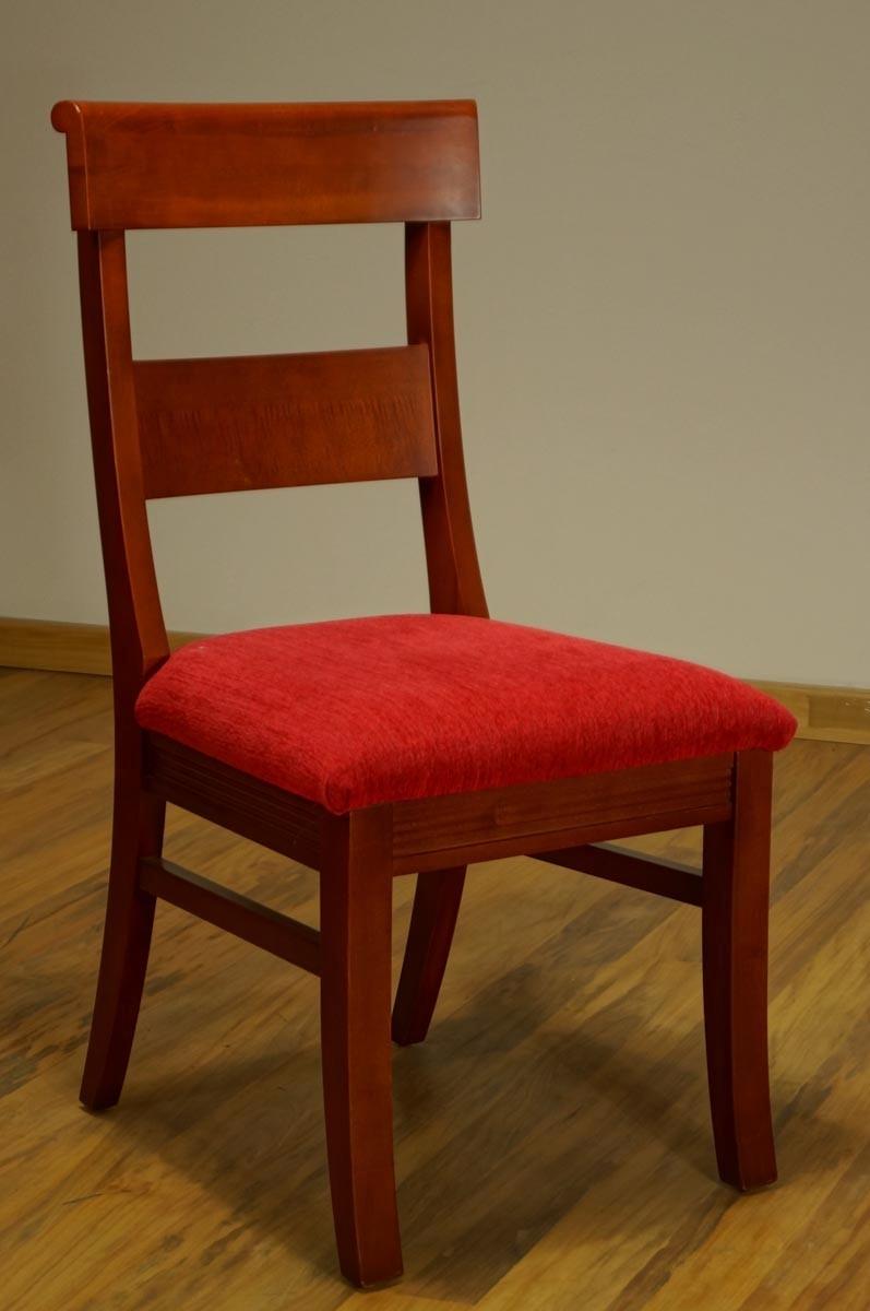 Silla de madera burdeos casa bonita muebles 2 for Muebles sillas madera