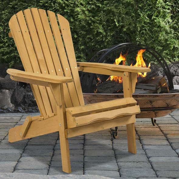 silla de madera para jardin patio reclinable ligera rustica & Silla De Madera Para Jardin Patio Reclinable Ligera Rustica ...