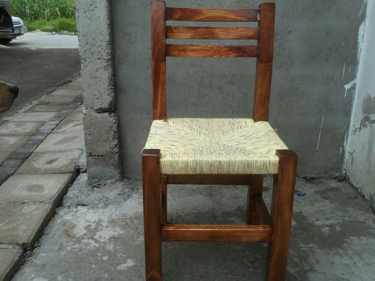 Silla de madera para restaurant en mercado libre for Sillas de madera precios