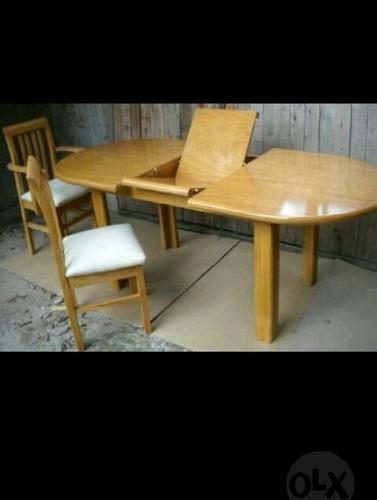 silla de madera paraiso, roble o caoba tapizada en tálampaya