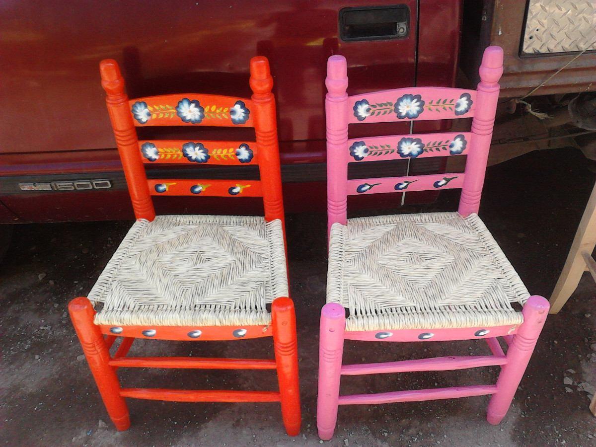 Silla de madera tejida en palma en mercado libre - Muebles en palma ...
