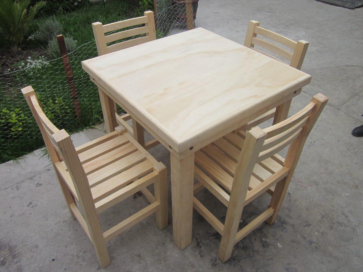 Silla de madera uso rudo 2 pzas envio gratis - Sillas de madera ...