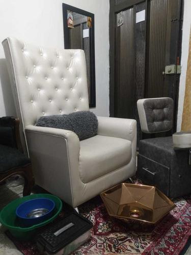 silla de manicure pies y manos