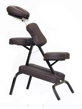 silla de masaje portatil  vinil calidad premium  y blanco