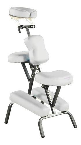 silla de masaje shiatsu portatil con maleta spa antiestres