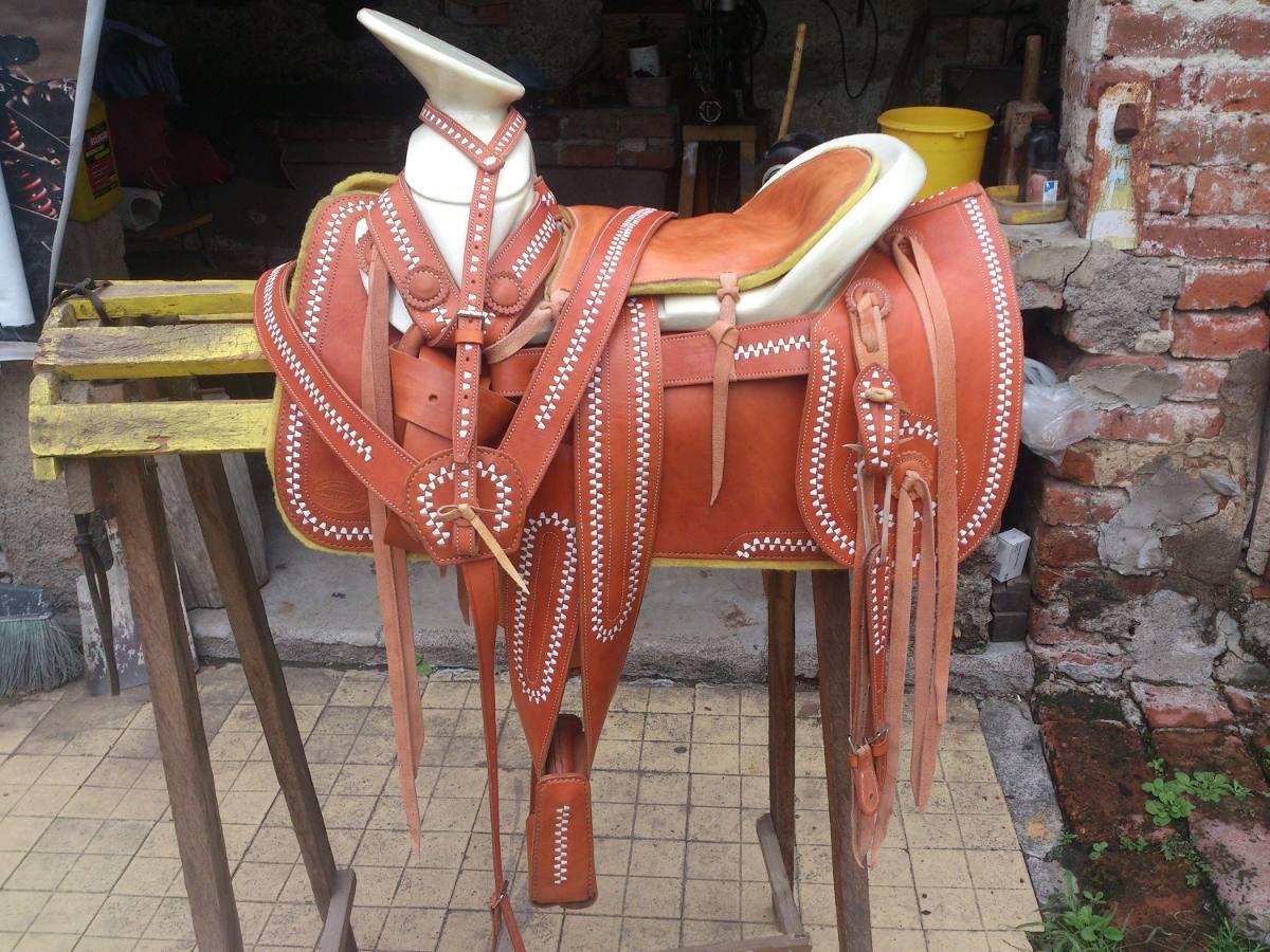 Silla de montar charra redonda jaraneada 6 en mercado libre - Silla montar caballo ...
