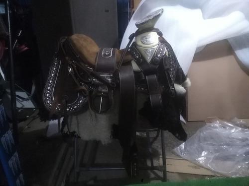 silla de montar,montura charra de resaque diseño nuevo