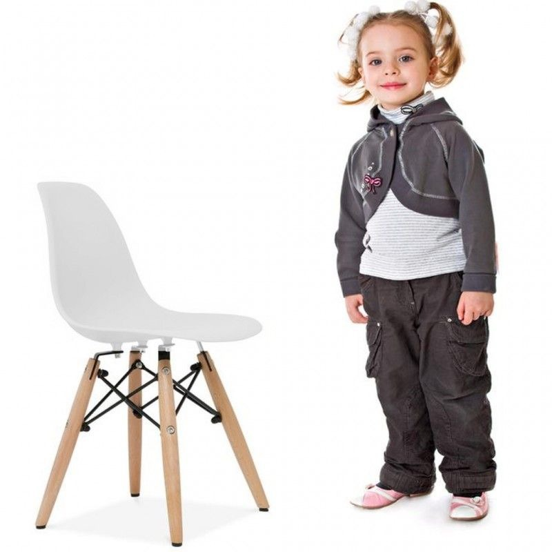 Silla De Niño Modelo Eames - Infantil Color Blanco - $ 749,99 en ...