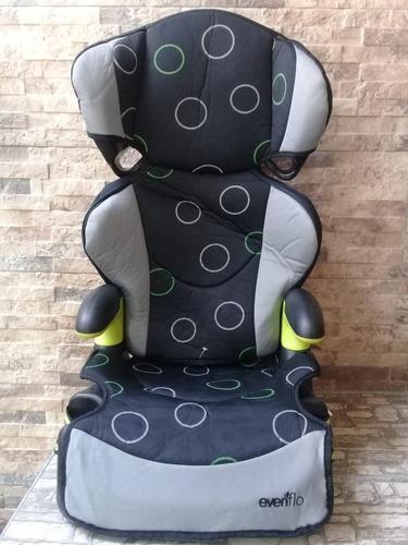 silla de niño p/carro marca evenflo