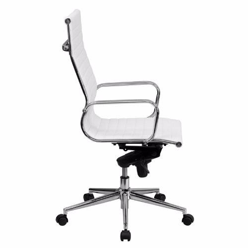 silla de oficina ejecutiva blanca graduable + envio gratis