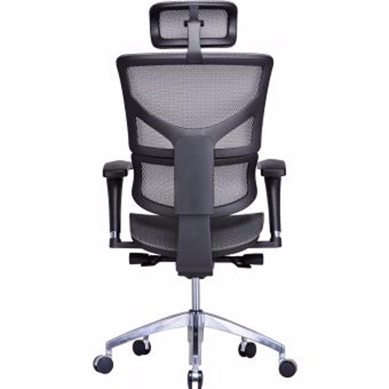 Silla de oficina ejecutiva ergon mica yves malla gebesa 4d for Silla ejecutiva ergonomica