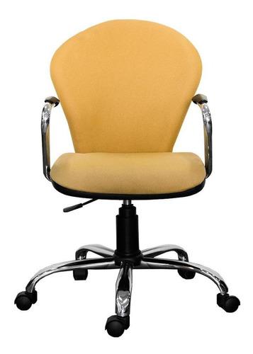 silla de oficina ergo cromada
