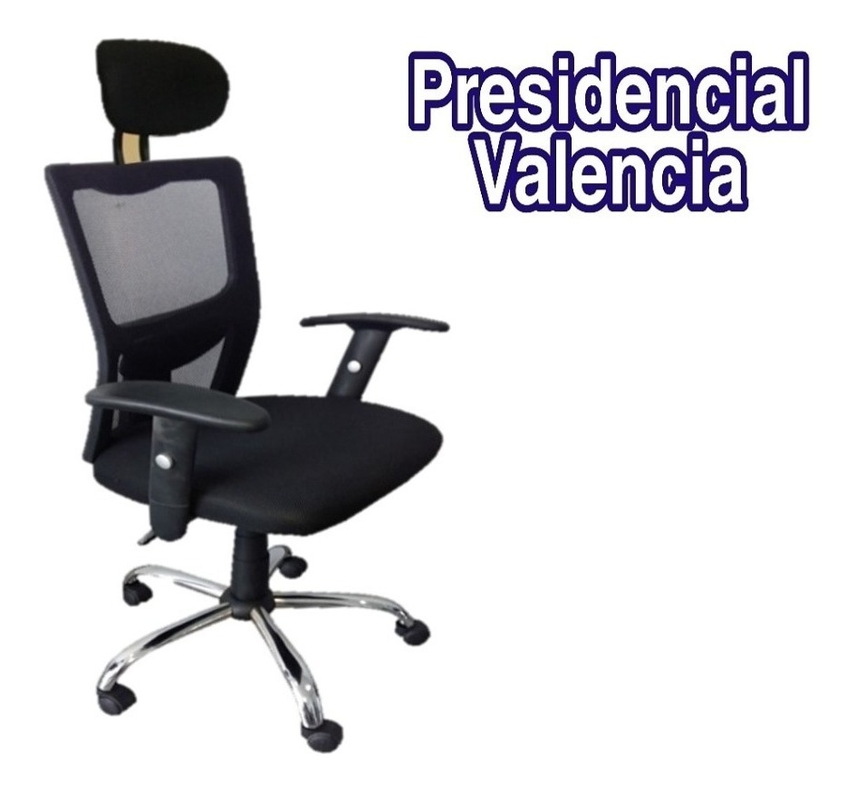 Silla De Oficina Escritorio Presidencial Valencia Gerencial