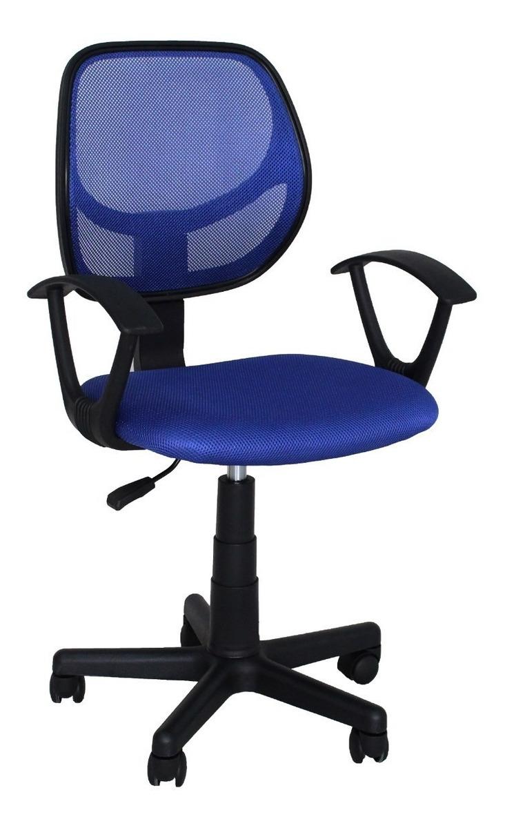 De Oficina Azul Silla Ruedas Mainstays Con Ajustable 6gIYf7ybv