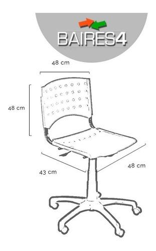 silla de oficina pc cyber escritorio garantia baires4 cuotas