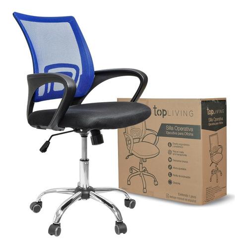 silla de oficina silla ejecutiva base metalica antri trans