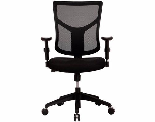 silla de oficina sky malla ergonómica brazo ajustable