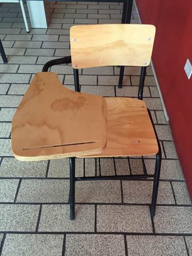 silla de paleta de triplay