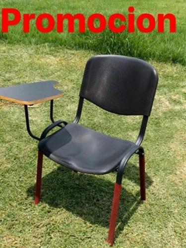 silla de paleta genova platico