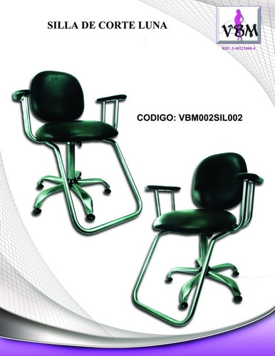 silla de peluquería económica luna pm