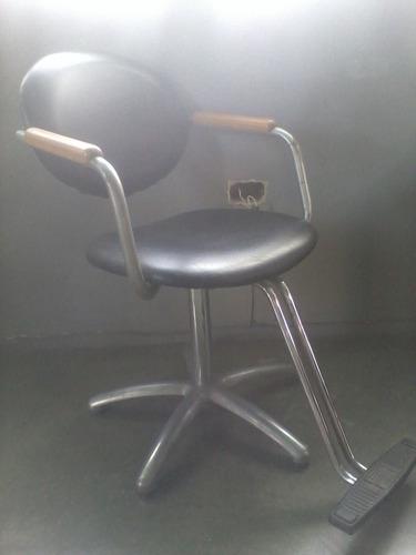 silla de peluqueria giratoria